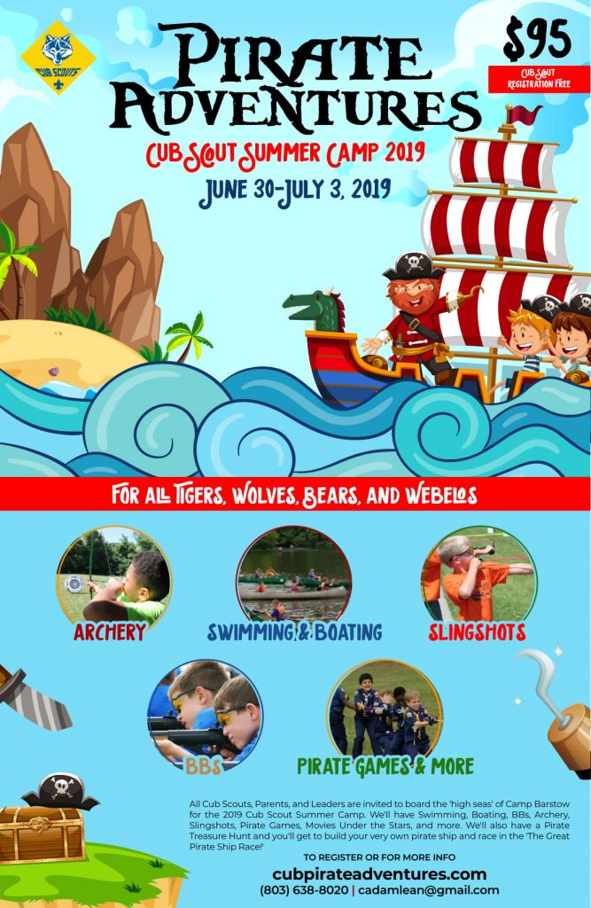 Cub Scout Summer Camp '19 | Camp Barstow